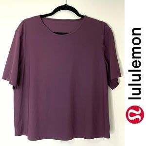 Lululemon Short Sleeve in Plum